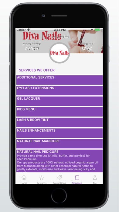 Diva Nails and Spa | App Price Drops