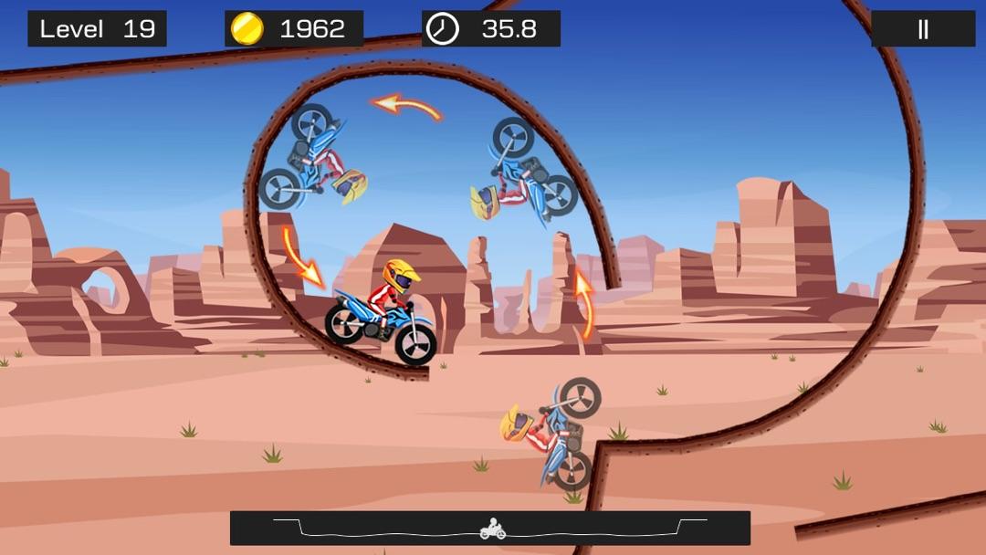 Top Bike Lite - Best Motorcycle Stunt Racing Game - Online