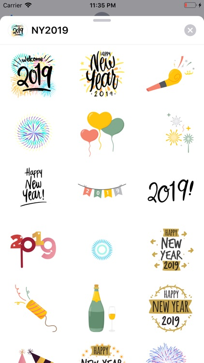 Animated Happy New Year 2019