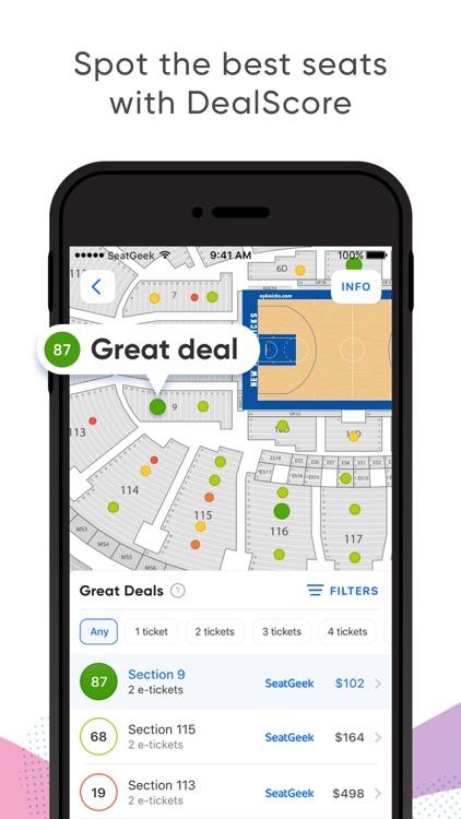 SeatGeek - Buy Event Tickets screenshot-0