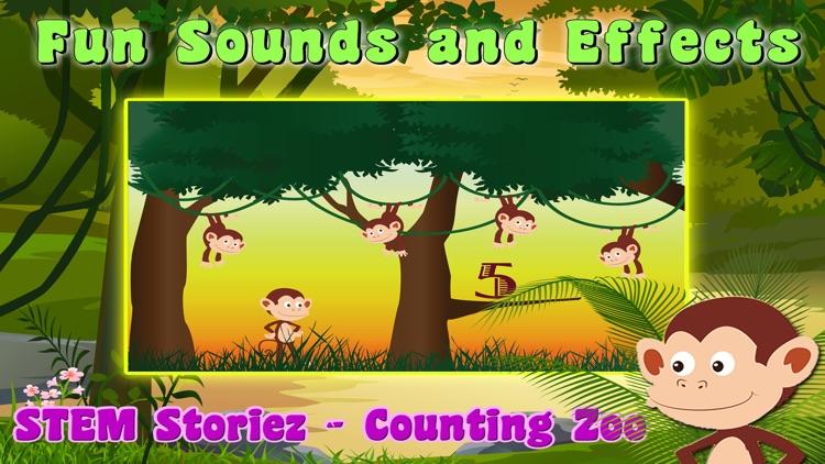 STEM Storiez - Counting Zoo screenshot-3