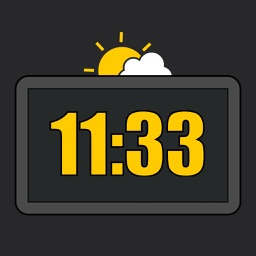 Table Clock with weather
