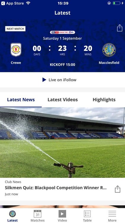 Macclesfield Official App