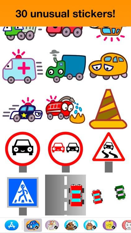 Cars - Unusual stickers screenshot-3