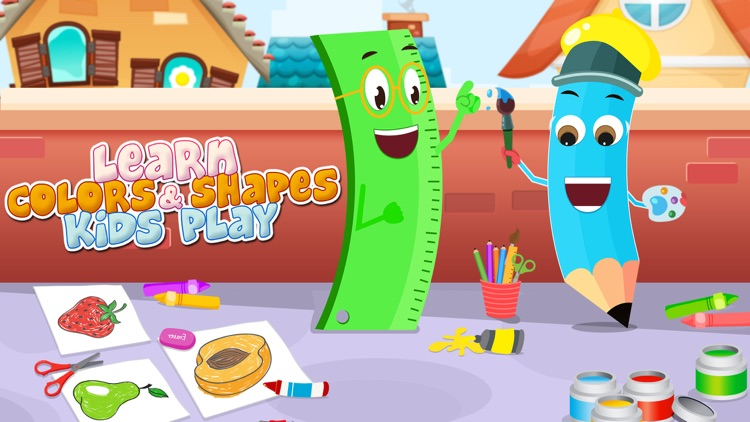 Learn Colors & Shapes Game