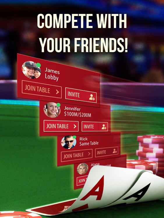 Zynga Poker HD: Texas Holdem screenshot-1