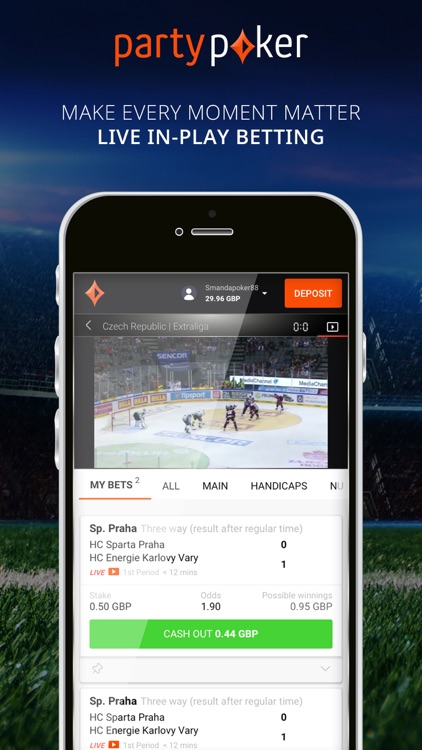 partypoker Sports Betting screenshot-3