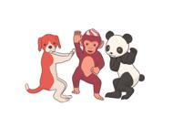Dancing Animals Animated