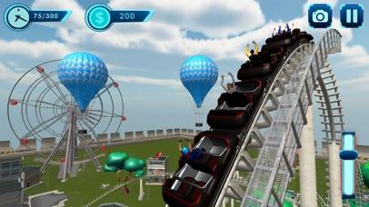 Roller Coaster Race Sim - Pro Screenshot 1