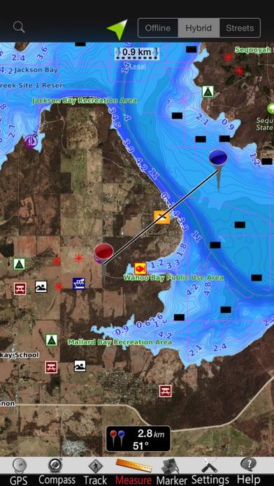 点击获取Oklahoma lakes Nautical Charts