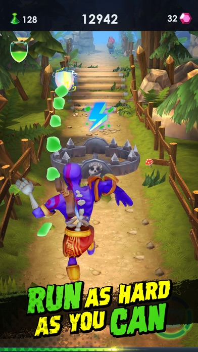 Zombie Run 2: Craft Fun Runner screenshot 2