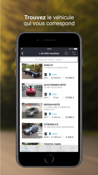 download La Centrale - voiture occasion apps 4