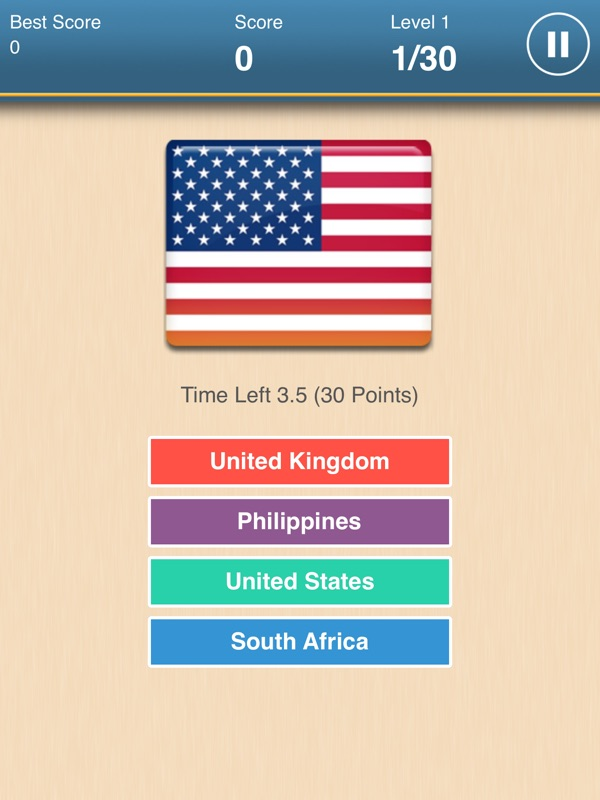 Hero of Flag - World Flags - Online Game Hack and Cheat