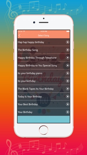 Birthday Song With Name On The App Store