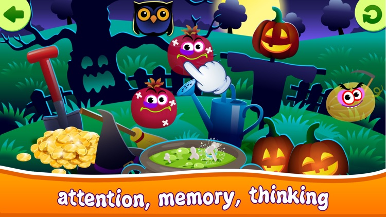 Halloween Kids Toddlers Games