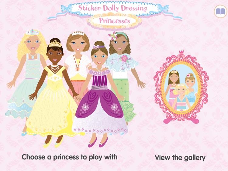 Usborne Sticker Dolly Princess