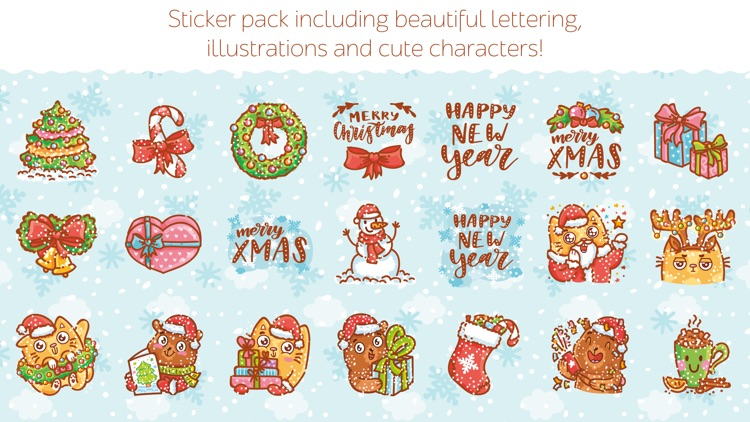 Holidays stickers!