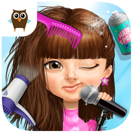 Sweet Baby Girl Pop Stars - Superstar Salon & Show