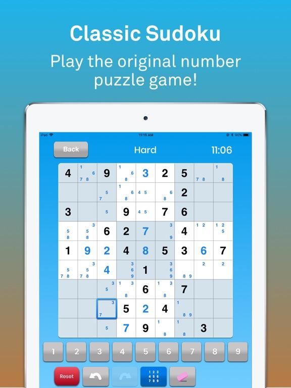 Sudoku классическая головоломк на iPad