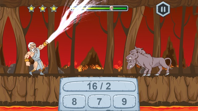 Zeus vs Monster: Fun Math Game on the App Store Mathway Games on