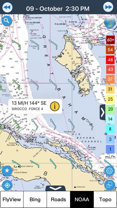 Wind forecast for Windgurus Screenshot