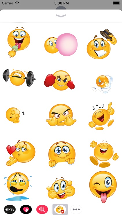 Funny Animated Emoji Stickers By EDB Group