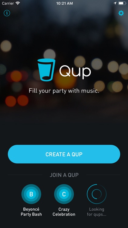 Qup: Fill the party with music