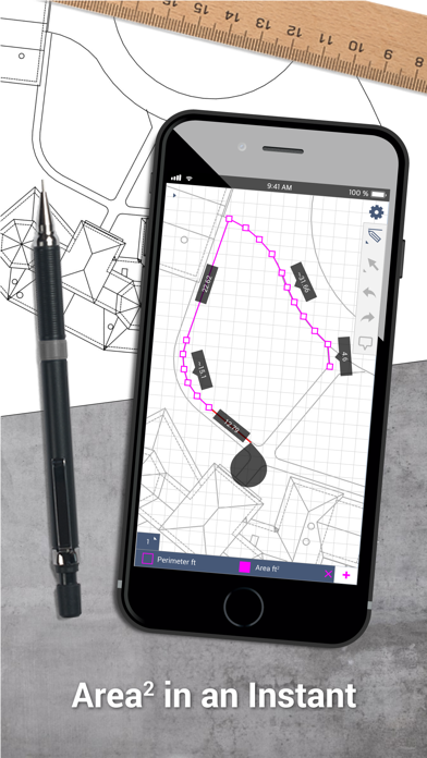SketchAndCalc Area Calculator by Icalc, Inc  (iOS, United States
