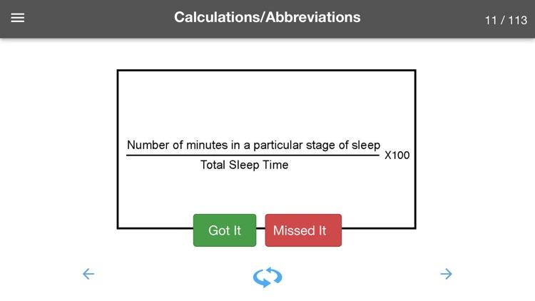Sleep Technology Flash Cards