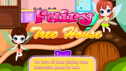 Fairy Tree House Game - Let's makeover the room!!
