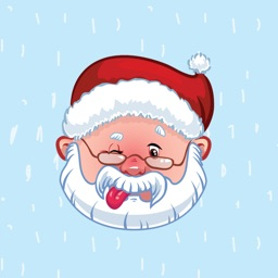 Christmas Santa Emoji Stickers