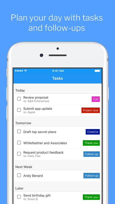 messages.download Highrise - Simple CRM software
