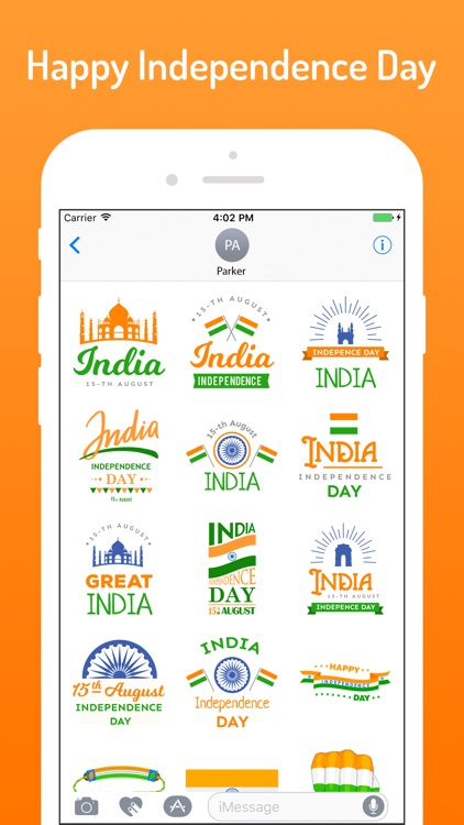 Independence Day Stickers !! screenshot-3