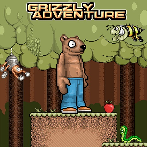 Grizzly Adventures - Crazy Bear Platformer iOS App