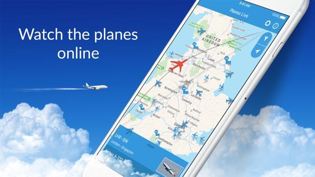 Planes Live - Flight Radar on the App Store