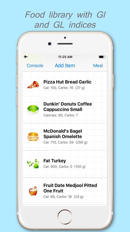 DiaBeatMove-Meal, CGM, Insulin screenshot-6