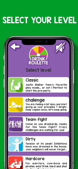Roulette drinking game app top 10 slot machine apps