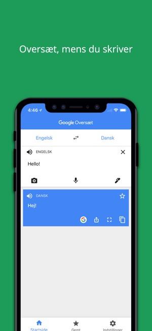 Google Oversæt i App Store
