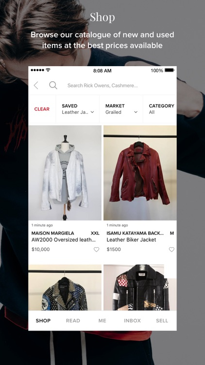 Grailed screenshot-1