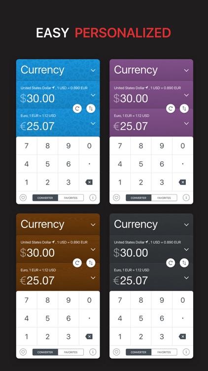 GlobeConvert Currency & Unit screenshot-4