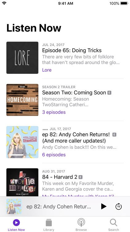 Podcasts screenshot-0