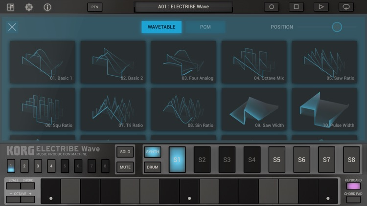 KORG ELECTRIBE Wave screenshot-3
