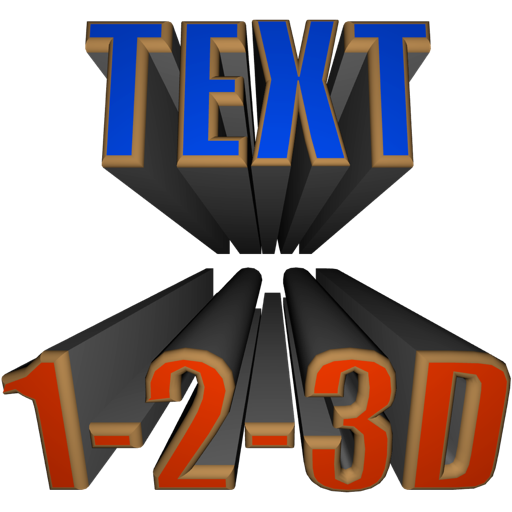 Text 1-2-3D