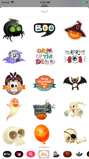 ‎Happy Halloween Goblin Sticker