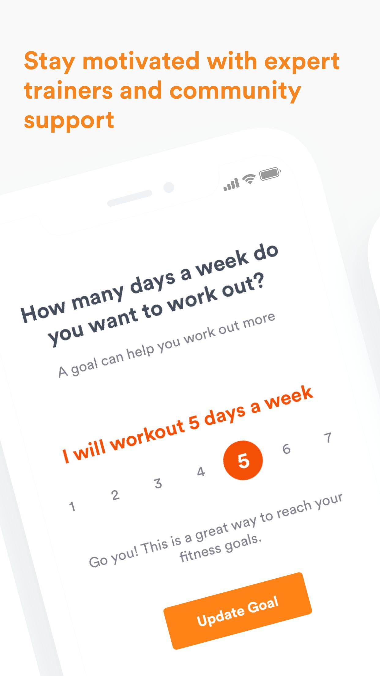 Daily Burn Trainer Workouts Screenshot