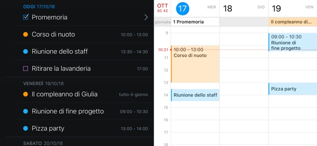 Fantastical 2 per iPhone Screenshot