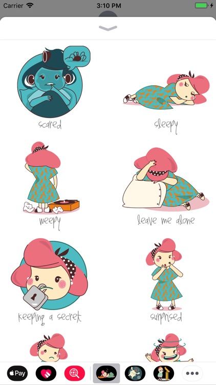 Pin Up Girl Stickers
