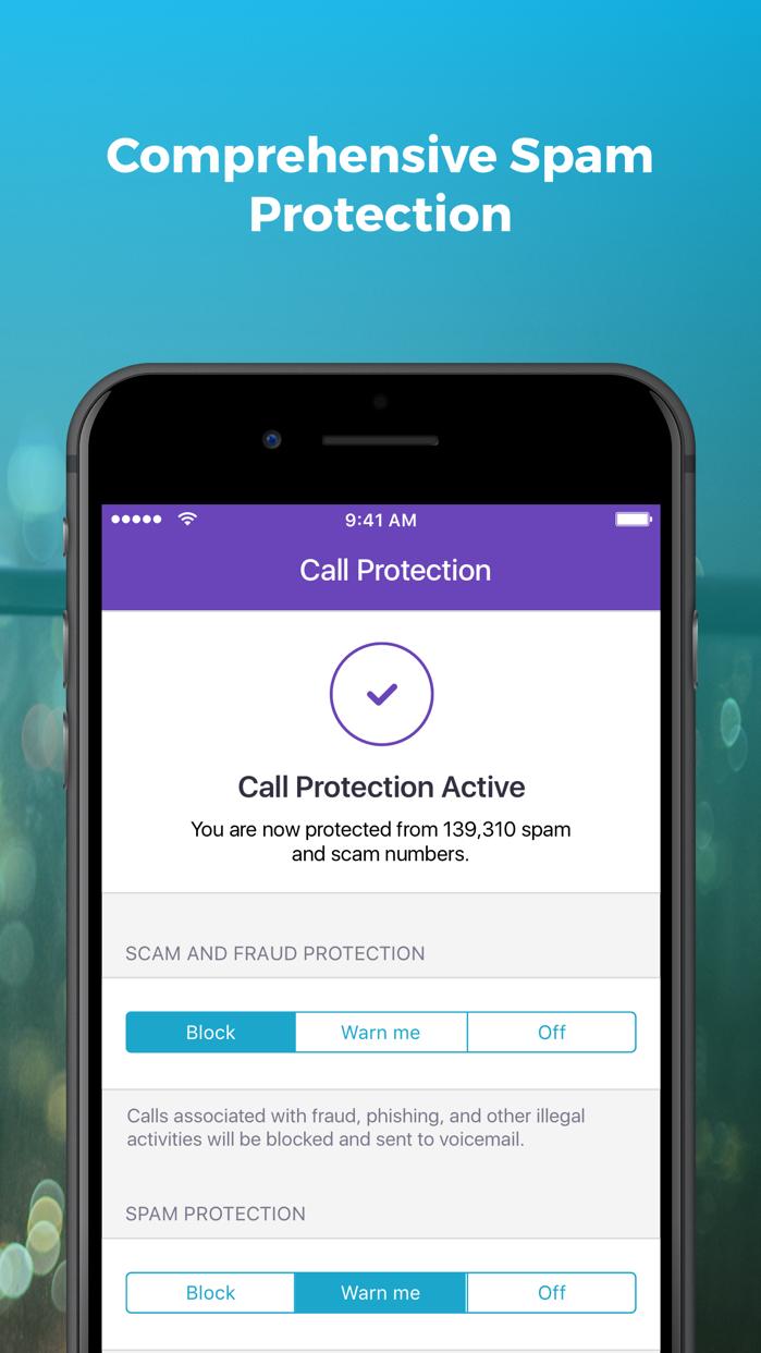 Hiya Caller ID and Block Screenshot