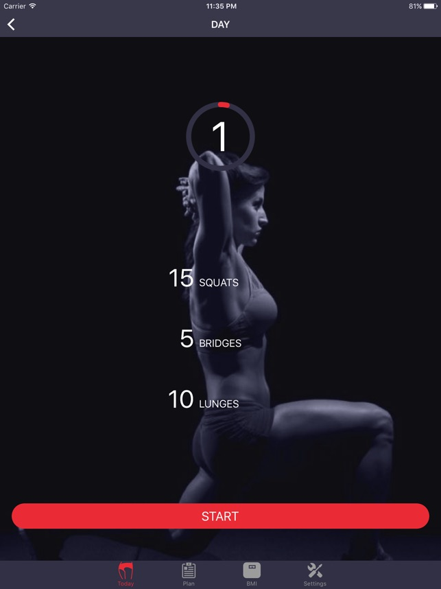 Pump up you Booty in 30 Days! Screenshot
