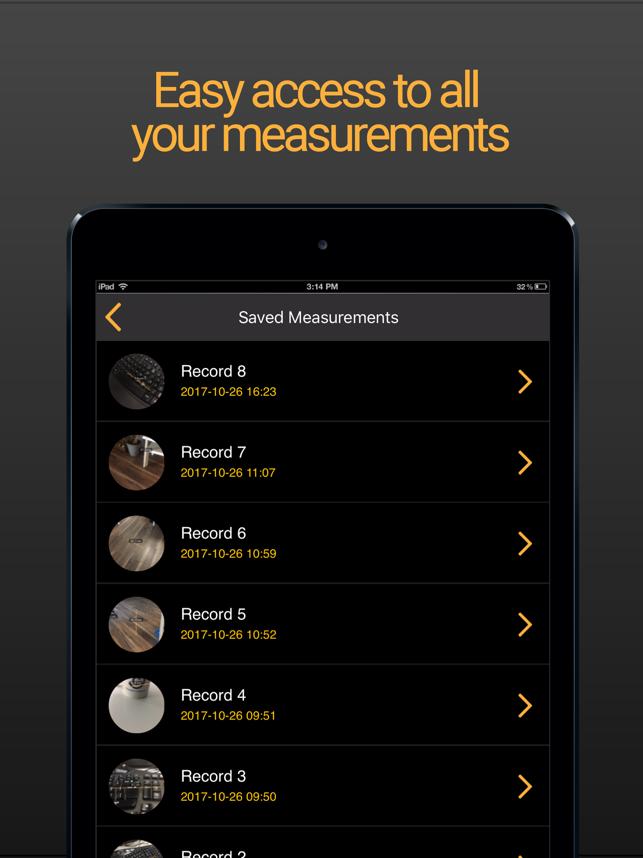 Tape Measure AR Screenshot